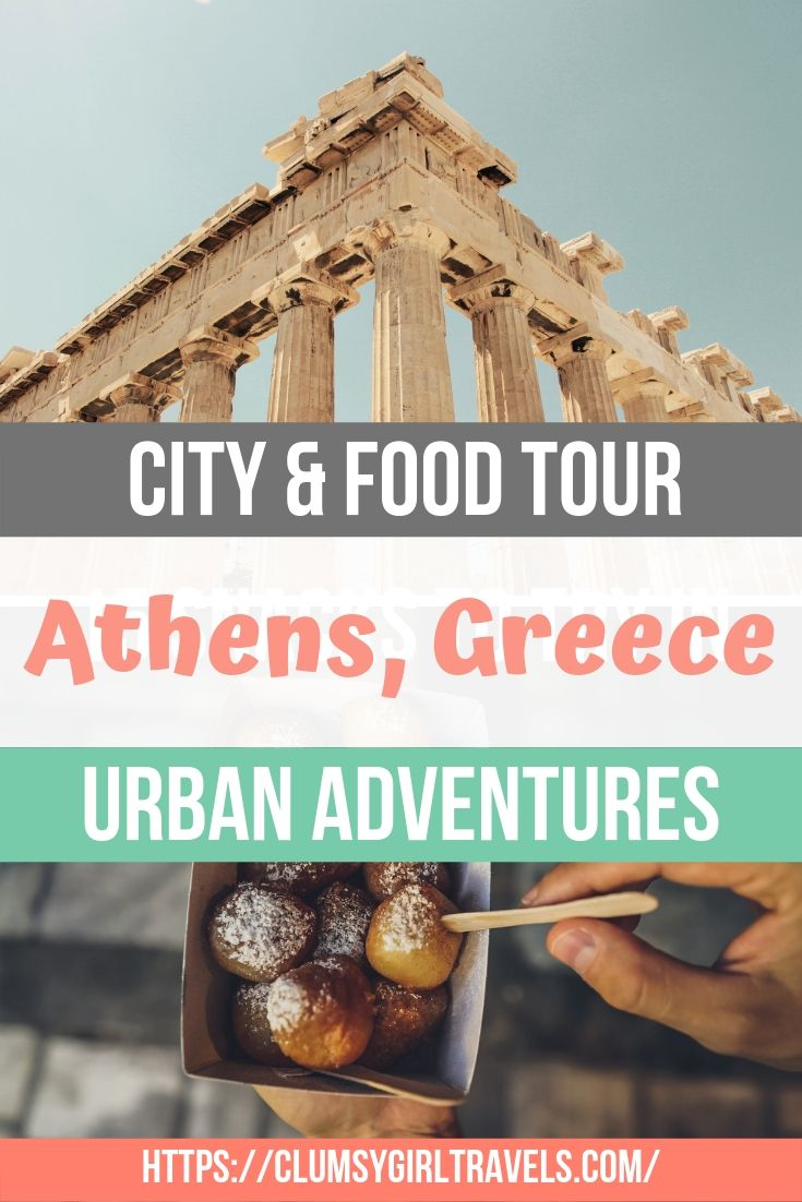 The best way to explore a city is with a local who knows it well. If you want an in-depth Athens city tour with locals who are eager to show you their home than this tour is the perfect thing to do when visiting the beautifully historic city. #travel #athenstravel