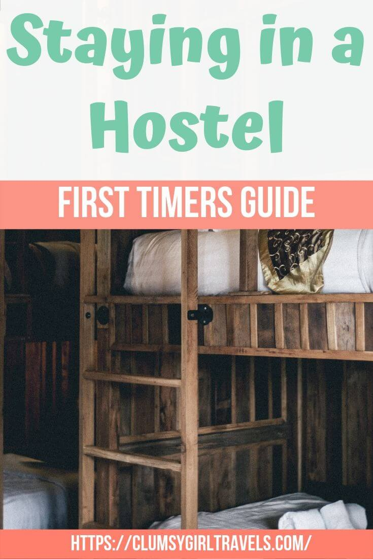 Don't let the unknown of staying in a hostel for the first time deter your decision to do it. Let this in-depth guide help you decide if hostels are right for you! #travel #hostel #budgettravel