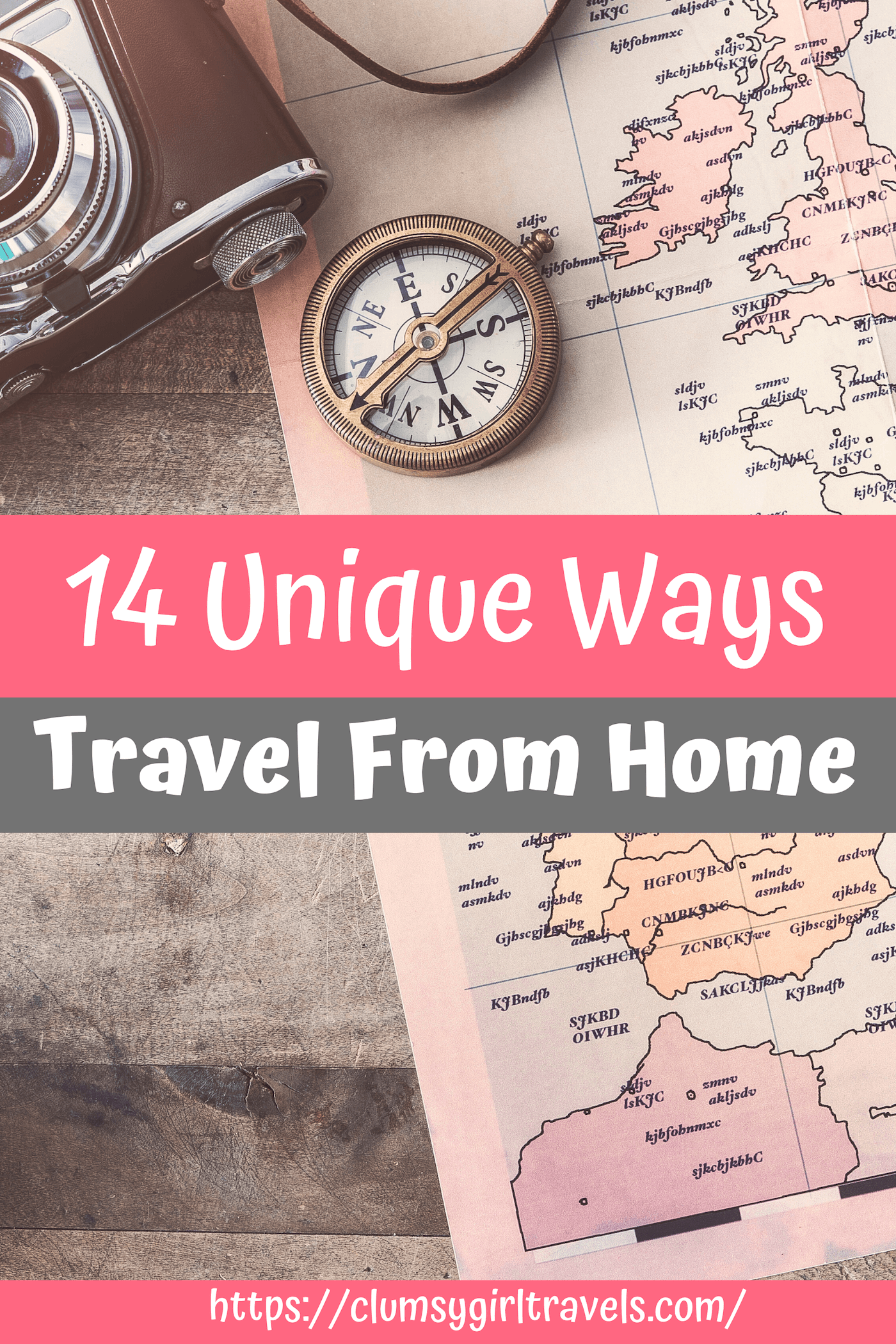 Are you stuck at home, but itching to go on vacation? Here are 14 unique ways you can travel from home.