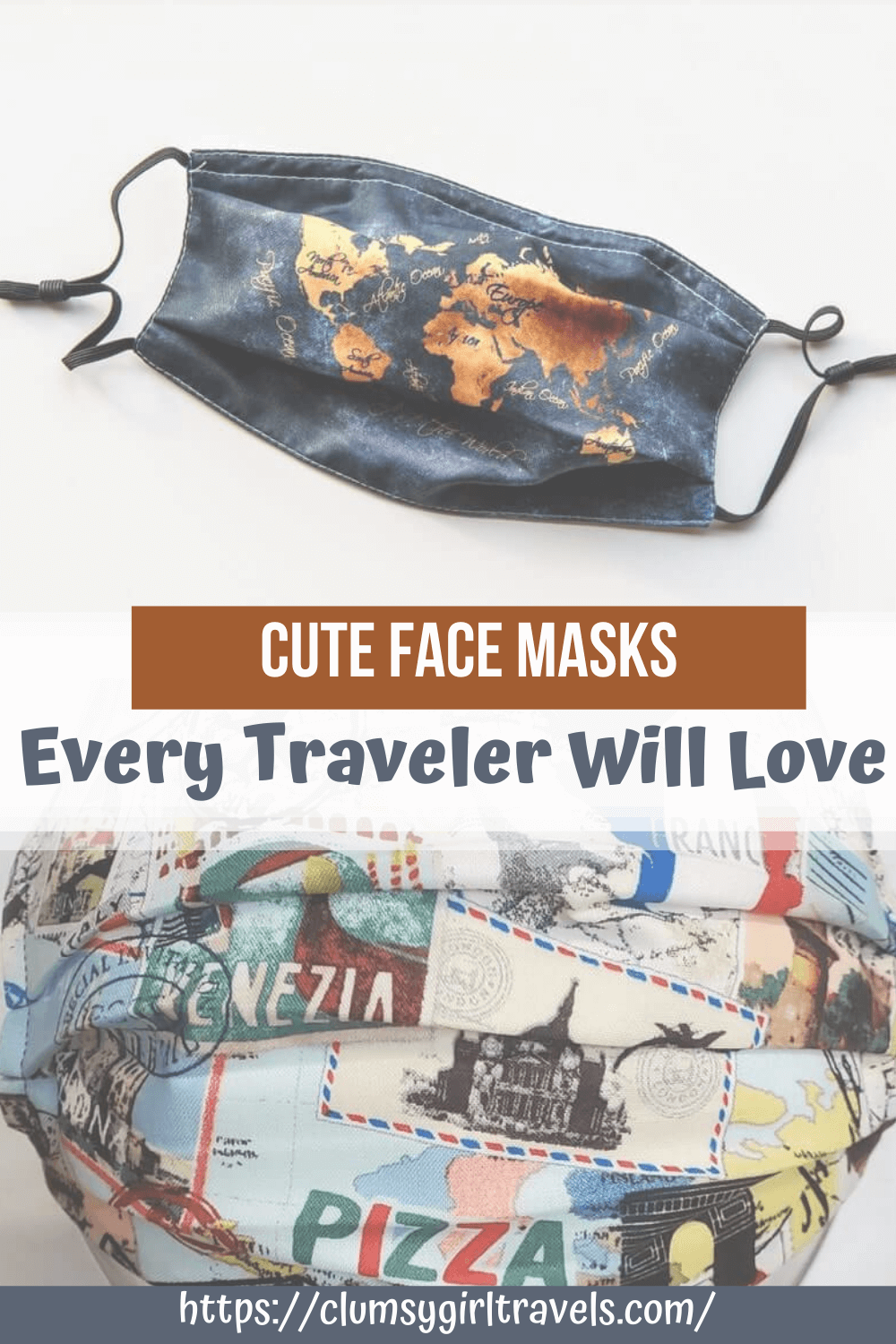Finding cute face masks is a must in todays day and age. This guide will help those wanderlusting souls find the perfect face mask.