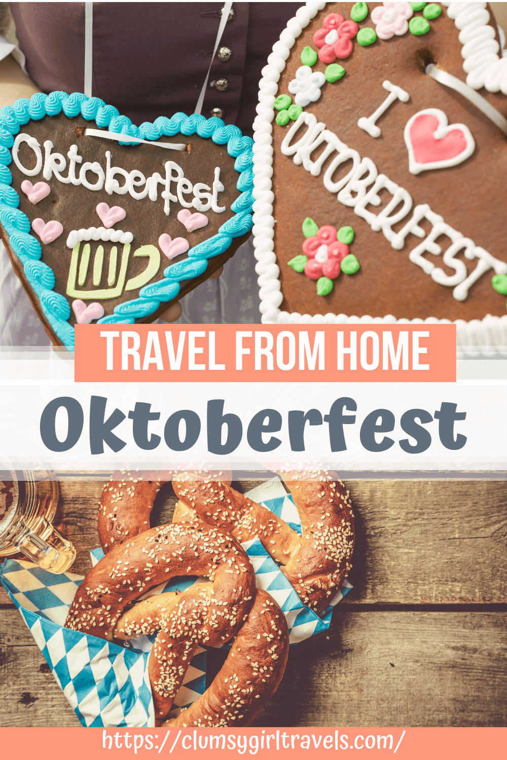 Oktoberfest is the biggest beer festival in the world and with this Oktoberfest virtual guide, you will be able to celebrate Oktoberfest at home. #oktoberfest #oktoberfestathome