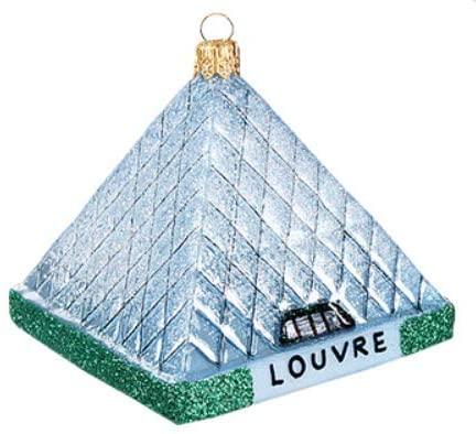 Louvre Art Museum Ornament