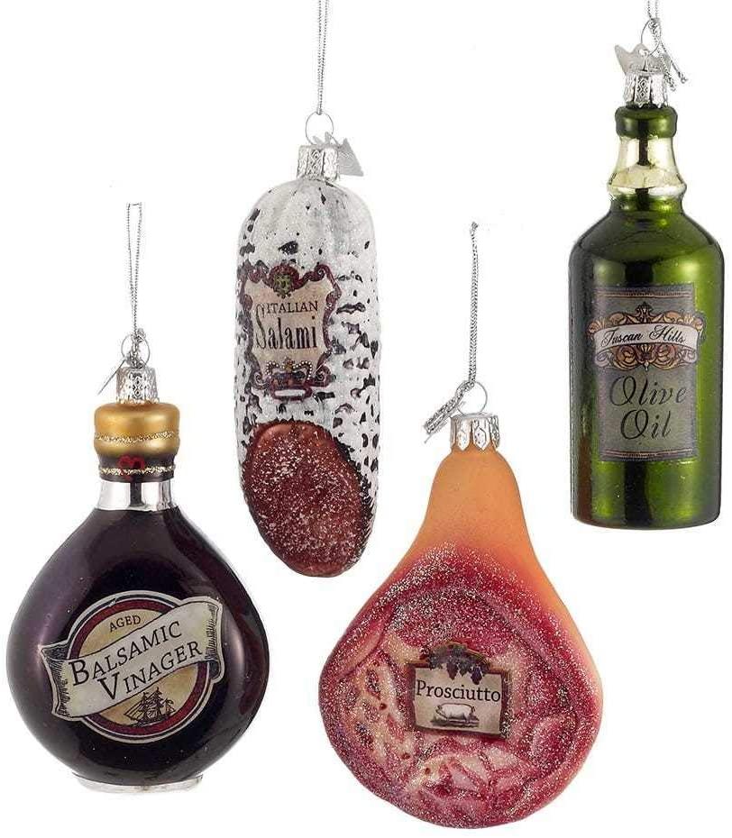 Italian Food Ornament, Set