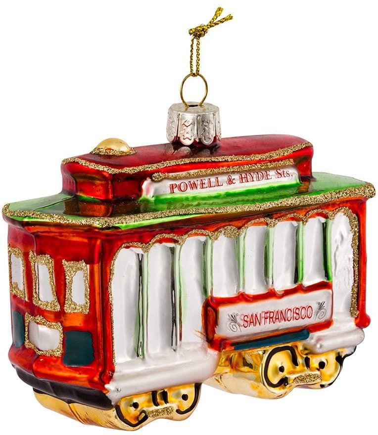 San Francisco Cable Car Ornament