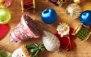 christmas travel ornaments