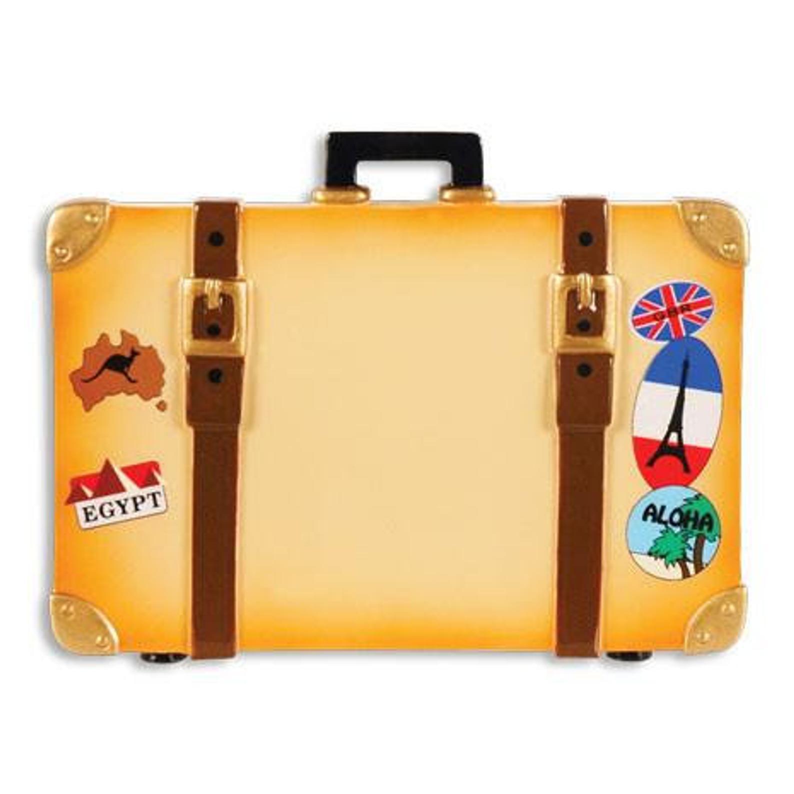 Custom Suitcase Ornament