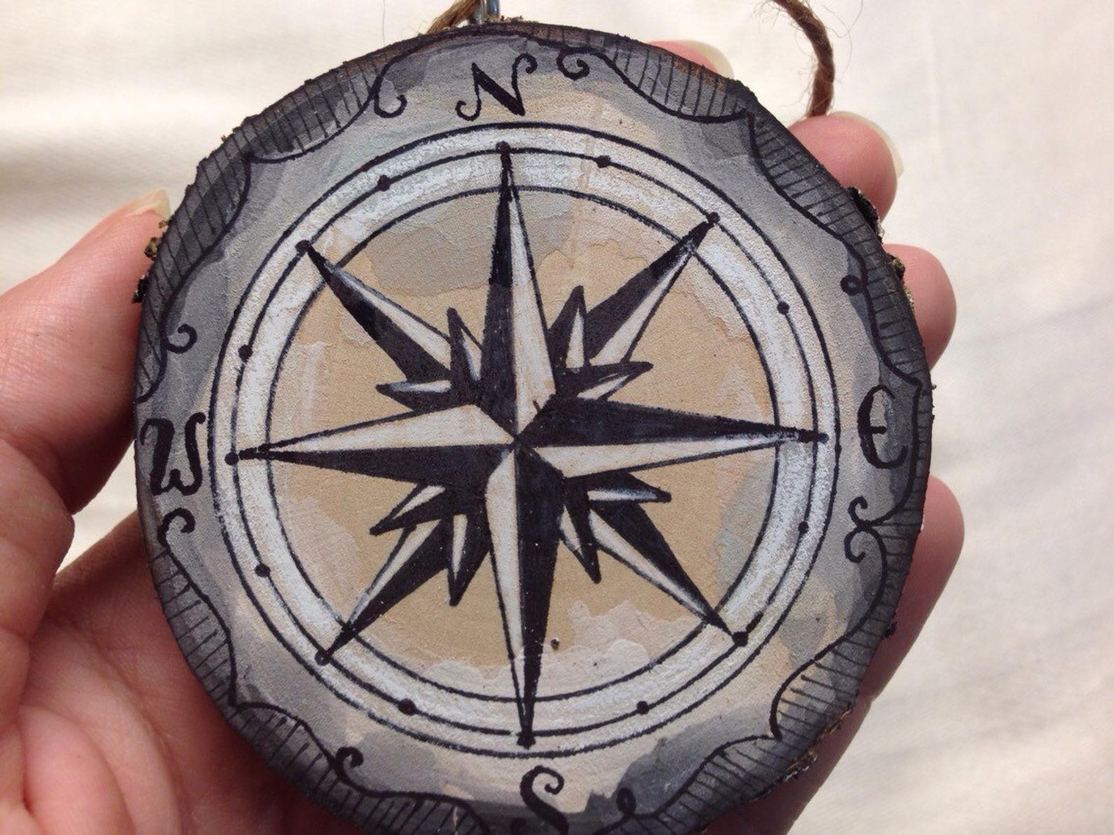 Compass tree ornament