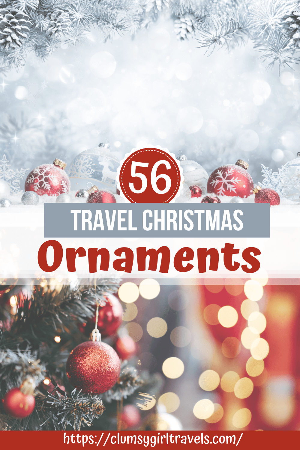 If you love travel and are looking to spice up your tree for the holidays these travel Christmas ornaments will do the trick!