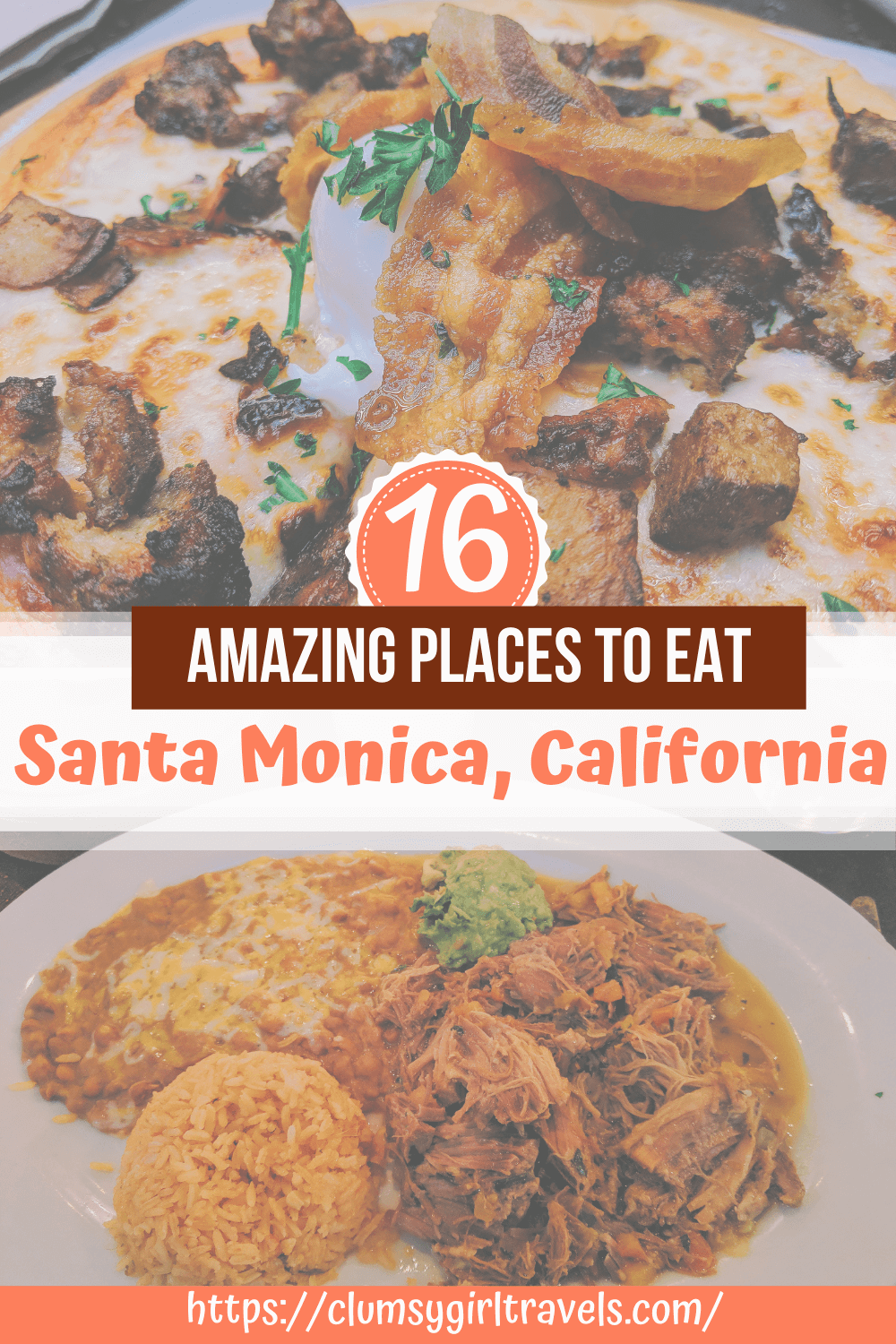 If you are wondering where to eat in Santa Monica, this is the guide for you. Santa Monica has tons of amazing restaurants just waiting to be discovered. #santamonicatravel #losangelestravel #californiatravel