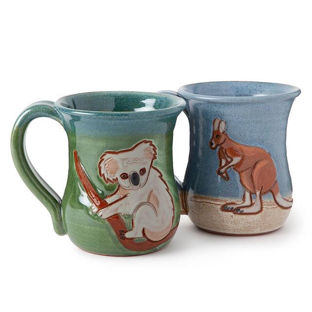 australian Animal mugs