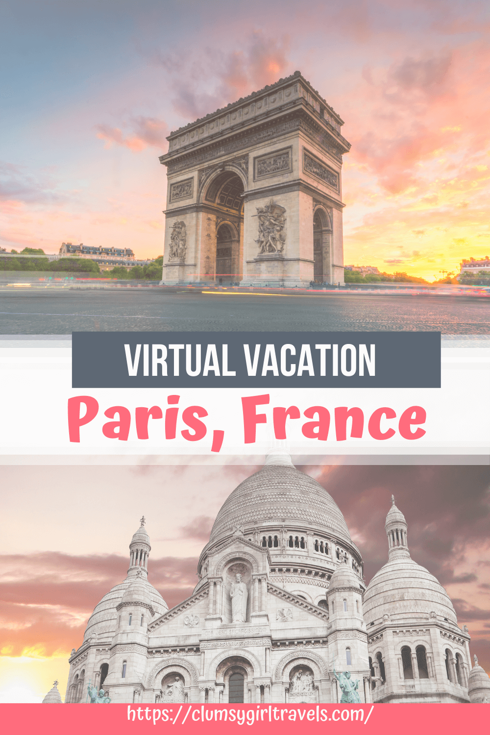 This virtual tour of Paris will take you around the city of lights through food, culture and so much more! You won't want to miss this virtual Paris tour.