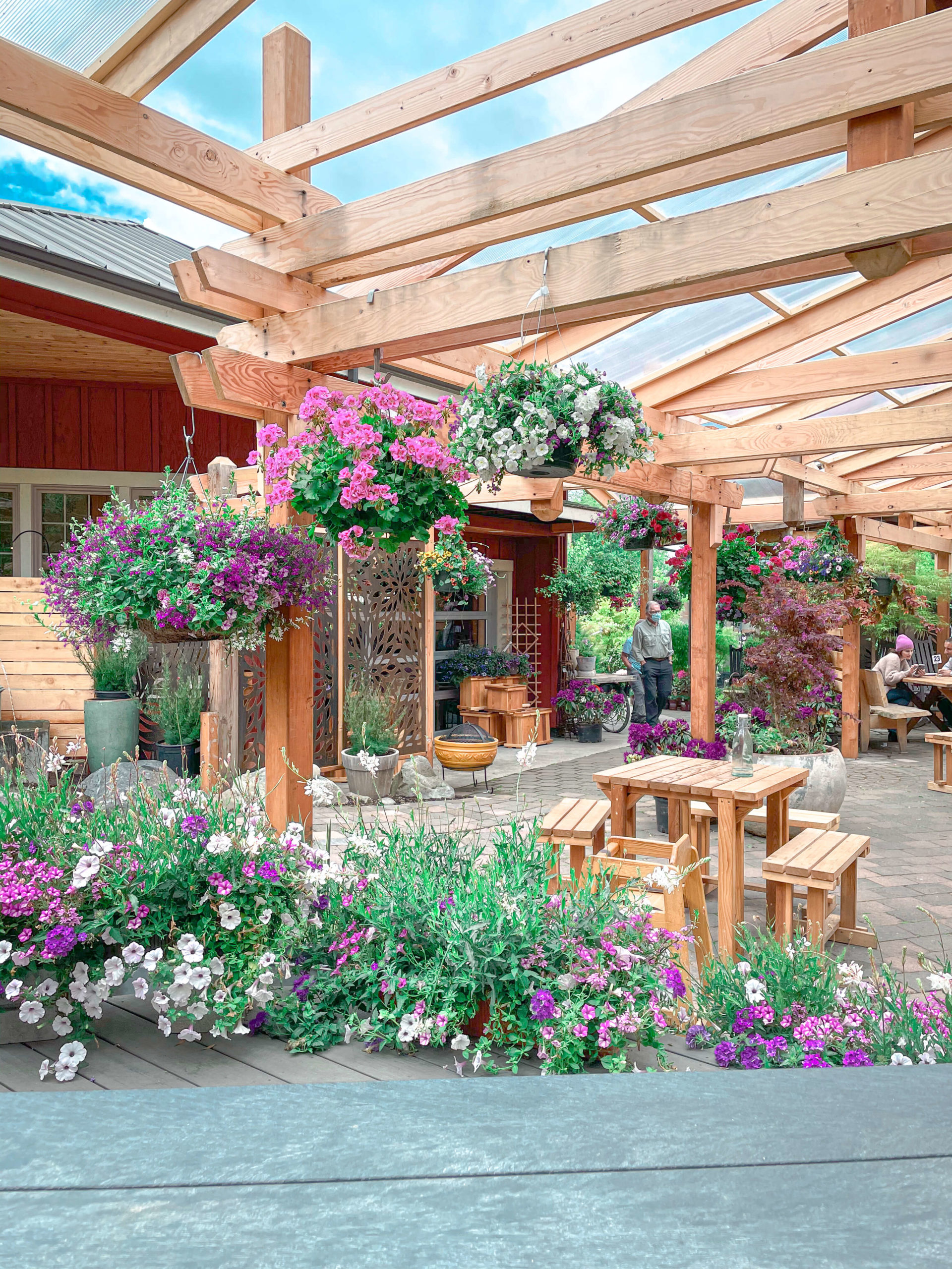 Flower Cafe Whidbey Island
