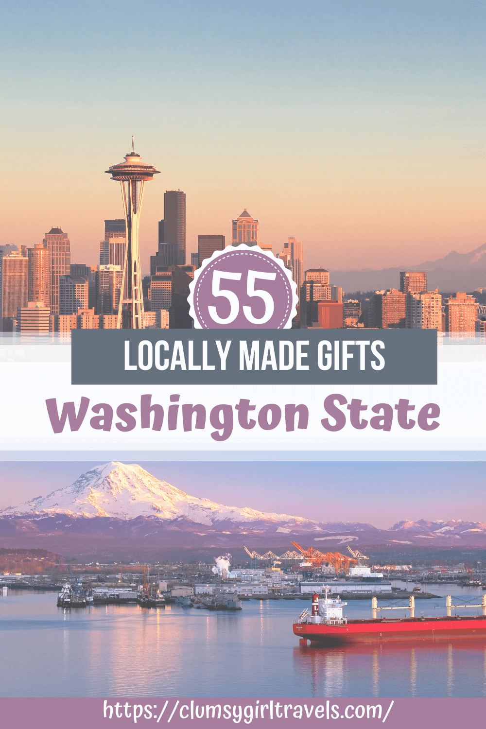 This guide will show you the best gifts made in Washington State, so that you can shop locally & sustainable.
